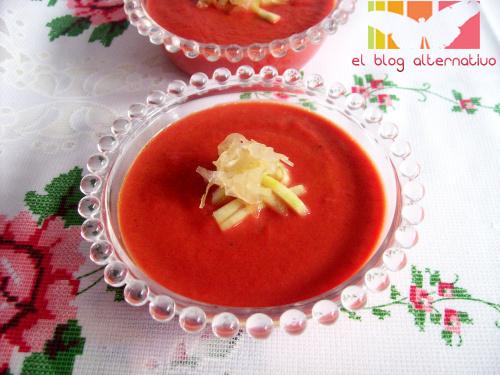 gazpacho - Gazpacho macrobiótico sin tomate