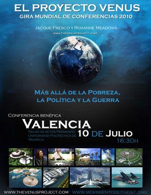 el proyecto venus valencia 2010 - El Proyecto Venus en España: ¿qué preguntas tienes tú?