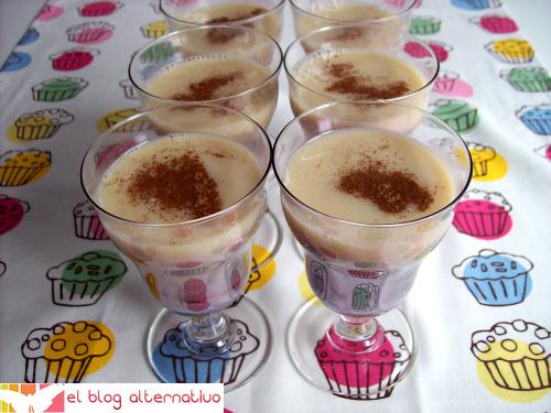 leche merengada - Receta de leche merengada de avena