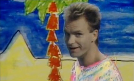 "sting love - ""Love Is The Seventh Wave""  de STING: la séptima onda es la más fuerte de todas"