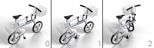 ville 3 - VILLE: la bicicleta que se convierte en carrito para la compra
