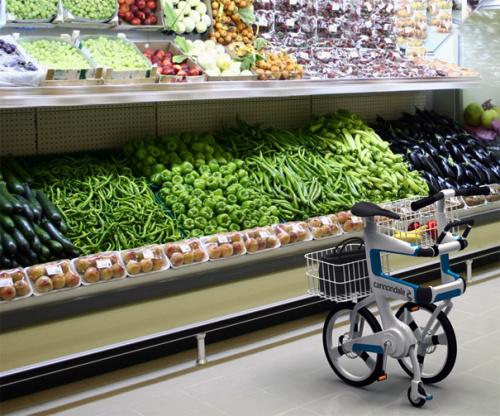 ville 7 - VILLE: la bicicleta que se convierte en carrito para la compra