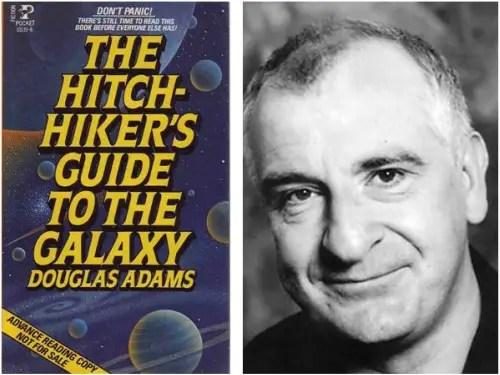 """douglas adams - Guía del autoestopista galáctico de Douglas Adams: la respuesta más irónica a todas las preguntas sobre """"la vida, el universo y todo lo demás"""""""