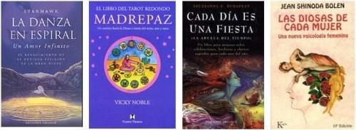 libros diosa4 - LA DIOSA EN ESPAÑA: entrevistamos a las organizadoras de La Conferencia de la Diosa en Madrid sobre este evento y el neopaganismo