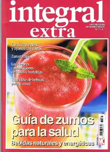 Integral Extra guia de zumos para la salud