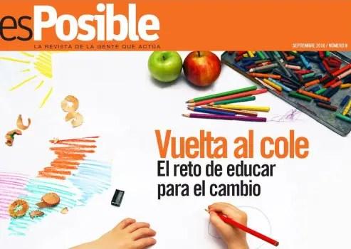 esPosible numero 8 - Vuelta al cole - El reto de educar para el cambio