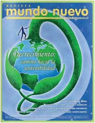 revista mundo nuevo - Revista Mundo Nuevo 73: Decrecimiento, camino hacia la sostenibilidad