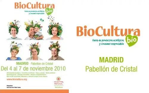 Biocultura Madrid 2010 - Entradas gratis para Biocultura Madrid 2010