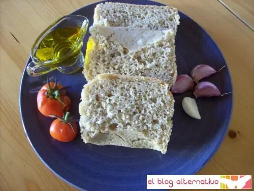 Pan de espelta y copos de avena