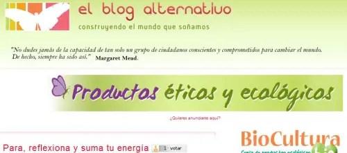 Publicidad en El Blog Alternativo - Publicidad en El Blog Alternativo: fácil, efectiva y económica