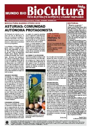 biocultura otoño 2010 - Revista en pdf de Biocultura nº 43, otoño 2010