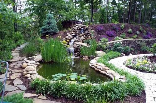 La colocaci n de fuentes albercas estanques y acuarios for Estanque agua 500 litros