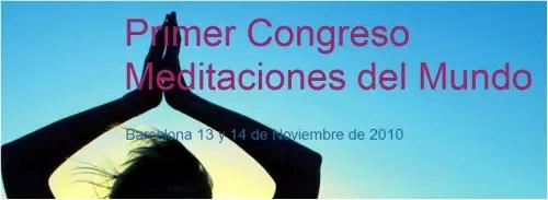 congreso meditaciones del mundo