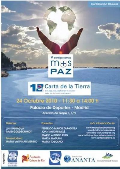 paz2 - V Congreso Contigo Somos + Paz: Madrid, 24 de octubre 2010