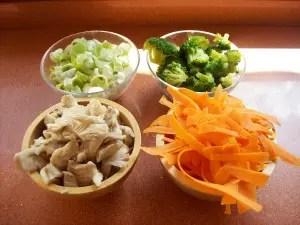 wok22 - Receta de wok de verduras y fideos japoneses