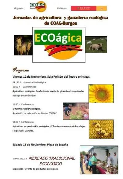 BURGOS - I Jornadas de agricultura y ganadería ecológica en Burgos
