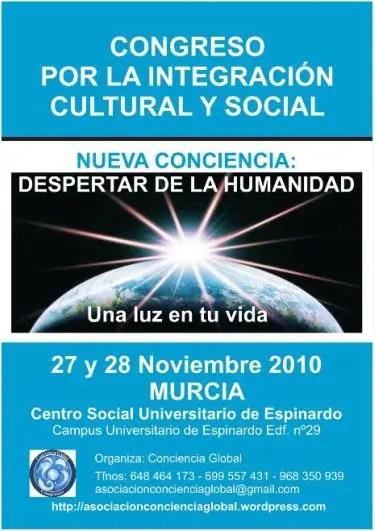 CONGRESO murcia1 - Congreso Conciencia Global en Murcia