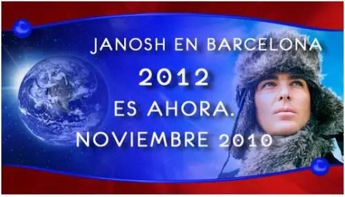 JANOSH11 - JANOSH y sus hologramas en Barcelona, noviembre 2010