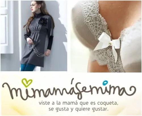MIMAMASEMIMA PORTADA - MI MAMÁ SE MIMA: especialistas en ropa, lencería y accesorios para la lactancia. Entrevistamos a las creadoras Claire y Ana