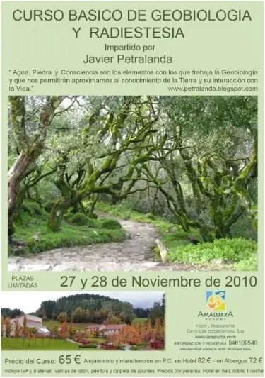 curso - Curso de geobiología y radioestesia en Vizcaya