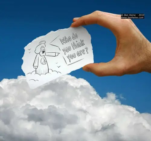 dios 500x466 - Ben Heine o la feliz unión entre fotografía y dibujo