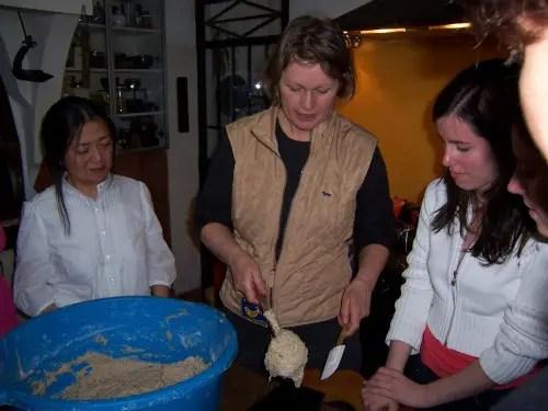 pan de trigo y centeno con masa madre