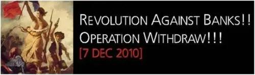 7 diciembre - BANKRUN 2010: ¿qué ocurriría si todos sacásemos nuestro dinero de los bancos convencionales y lo ingresásemos en banca ética?