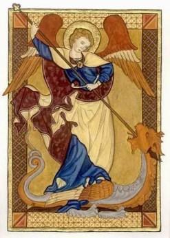 Web St Michael dragon - El Mito de La Caída de Lucifer