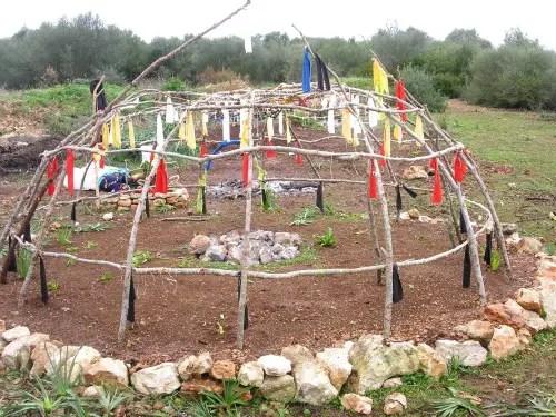 inipi1b - Inipis de la tradición Lakota en Mallorca, enero 2011