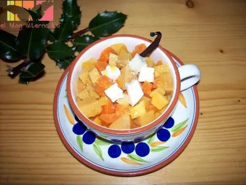 compota de membrillo y zanahorias a los cítricos