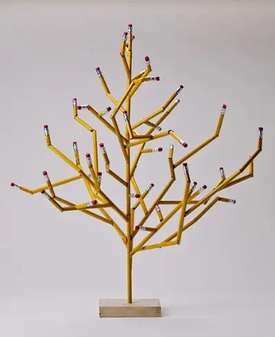 penciltree - Decorando con lápices