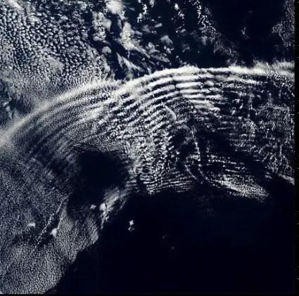 pulsación de ondas en los cielos2 - El orgón, las orgonitas, los rompenubes, el trabajo de Wilhelm Reich y más: aclarando conceptos