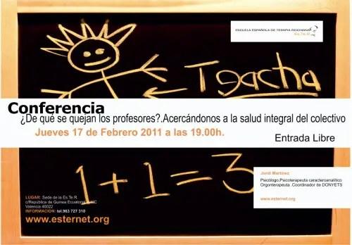 quejas de los profesores2 - ¿De qué se quejan los profesores?