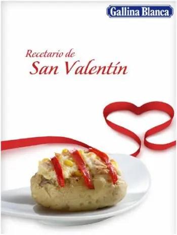 recetario san valentin gallina blanca