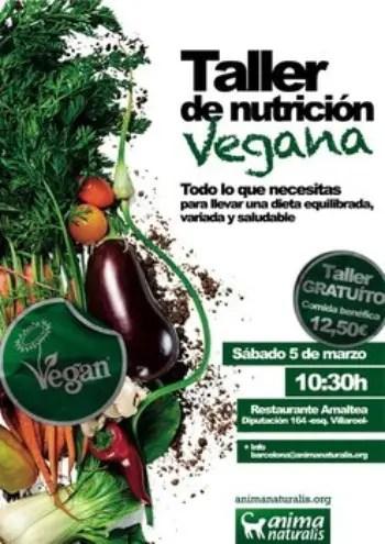 taller nutricion vegana