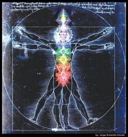 El+Vitruvio++Los+Chakras1+copia - Re-conocerse a través de los 7 chakras: un sendero hacia el bienestar