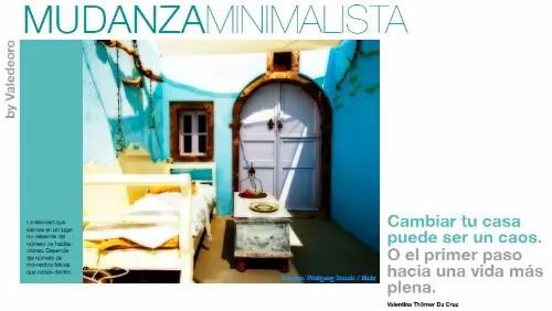 mudanza - Mudanza minimalista en pdf