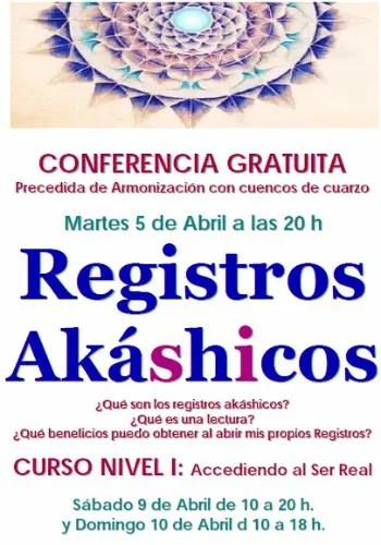 registros21 - Conferencia gratuita de registros akáshicos en Barcelona el 5 de abril 2011