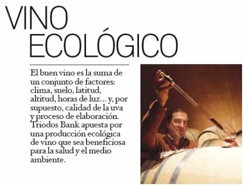vino ecológico Triodos Bank