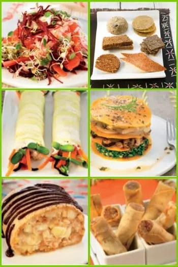 Collage de Picnik1 - COCINA CRUDA CREATIVA: ¿Por qué comer crudo si siempre se ha comido cocido?