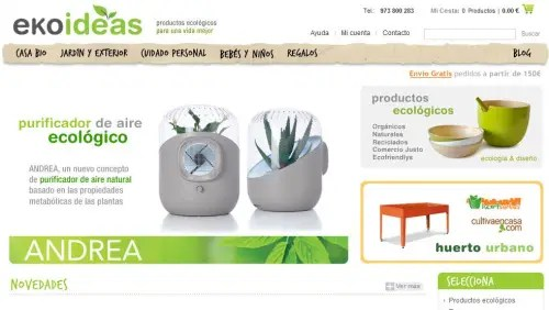 Ekoideas - EKOIDEAS - Productos ecológicos para una vida mejor