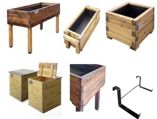 huerto - huerto de madera reciclada