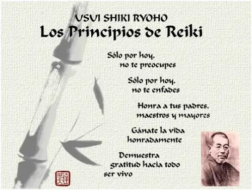 principios de reiki - Principios del Reiki