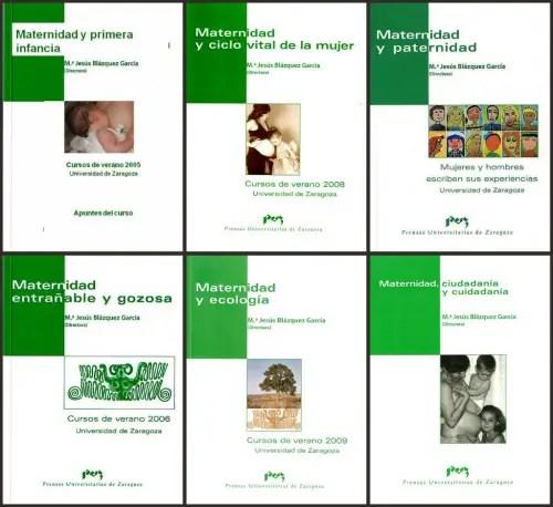 libros maternidad jaca