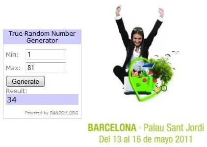 Ganadores sorteo Biocultura Barcelona 2011 - Ganadores del sorteo de 20 entradas dobles para BIOCULTURA Barcelona 2011