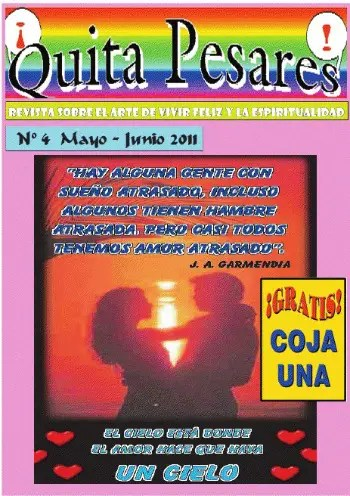 quitapesares - Quitapesares: revista online sobre el arte de vivir y la espiritualidad nº 4