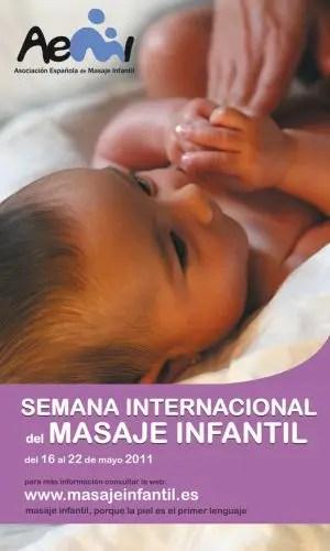 semana internacional del masaje infantil
