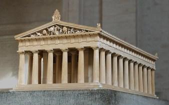 Model temple of Aphaia Glyptothek Munich 500x310 - El significado arcano de los símbolos: El triángulo (4)