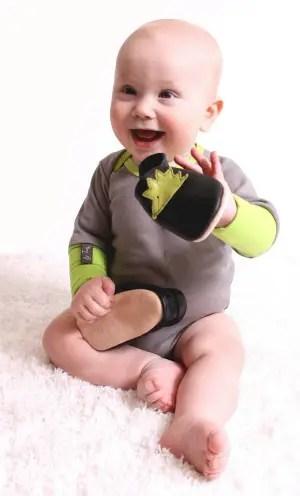 baby with iggy - El mejor cuidado para el desarrollo del pie de nuestros hijos
