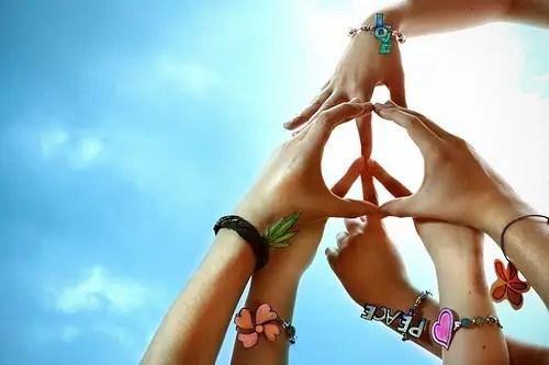 """peace fingers - Reflexiones sobre """"La Vía Pacifica"""". La Gran Transición"""